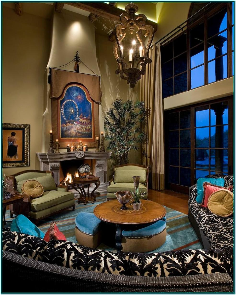 Blue And Brown Living Room Decorating Ideas
