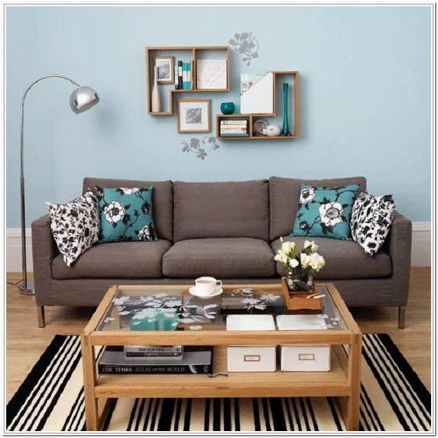 Brown And Teal Living Room Ideas