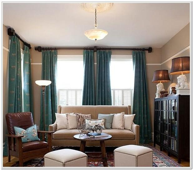 Brown And Turquoise Living Room Ideas
