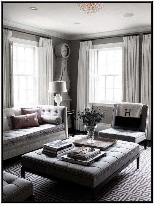 Charcoal Gray Living Room Ideas