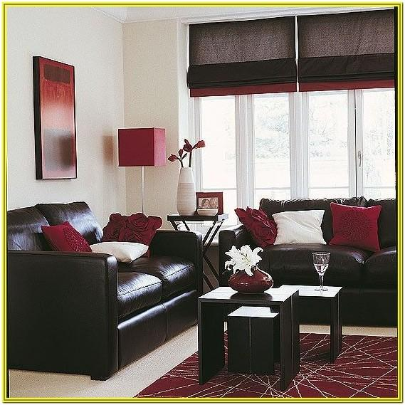Cream And Burgundy Living Room Ideas