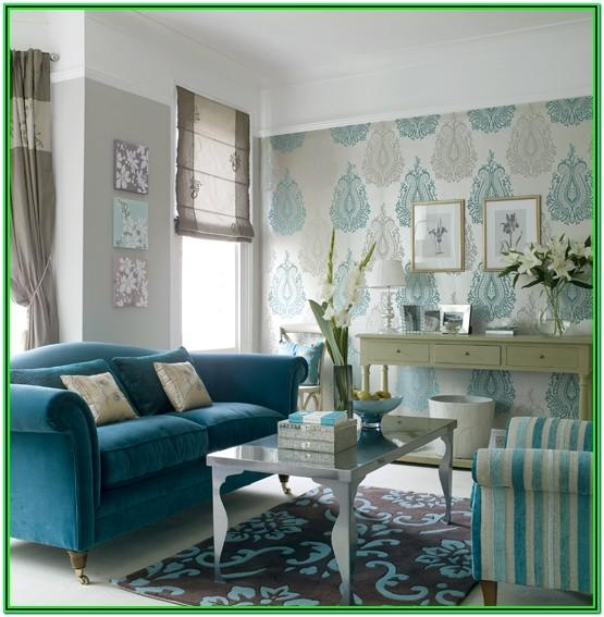 Dark Teal And Grey Living Room Ideas