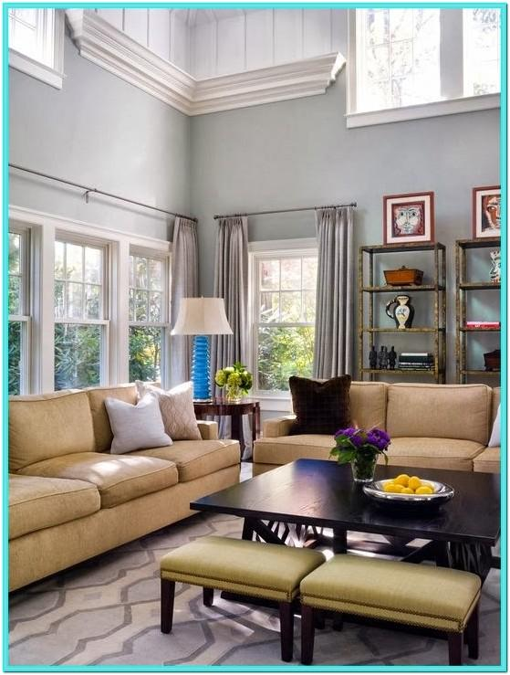 Decorate Two Story Living Room Wall