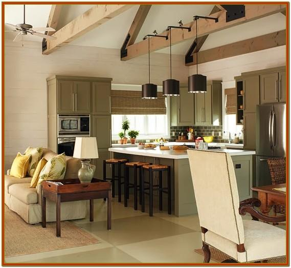 Decorating Ideas For Small Open Living Room And Kitchen