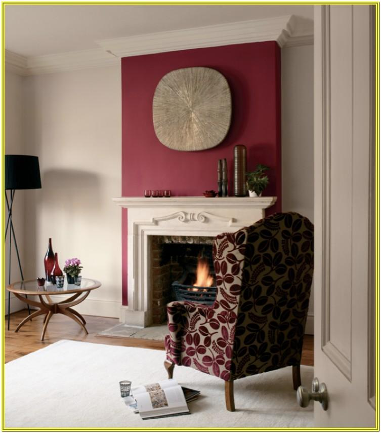 Fireplace Wallpaper Ideas For Living Room Feature Wall