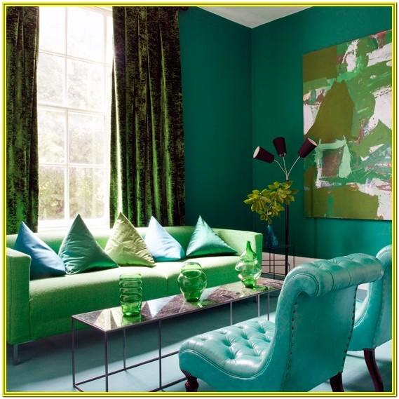 Green And Lilac Living Room Ideas