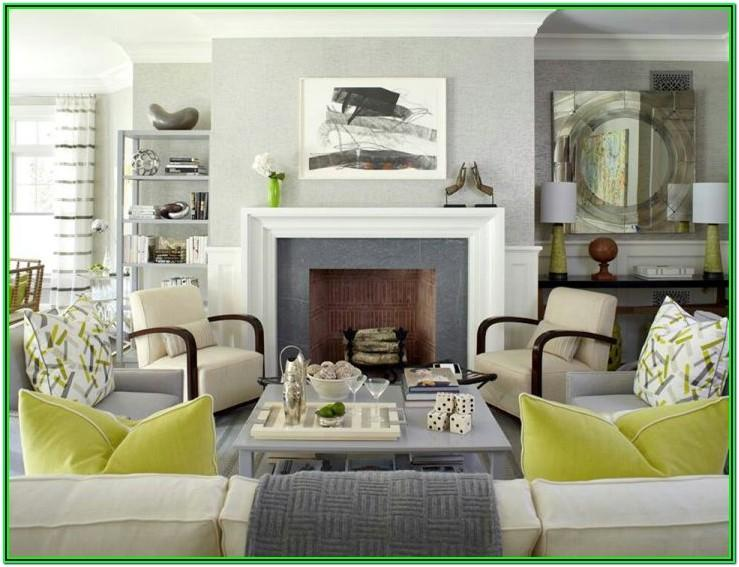 Grey And Olive Green Living Room Ideas