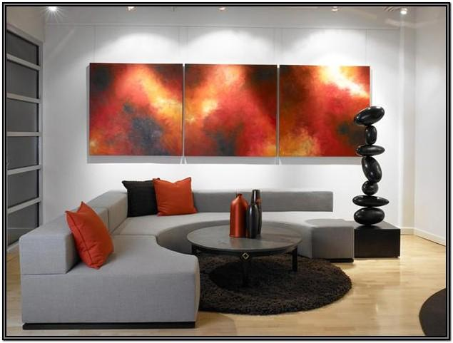 Grey Red And Black Living Room Ideas