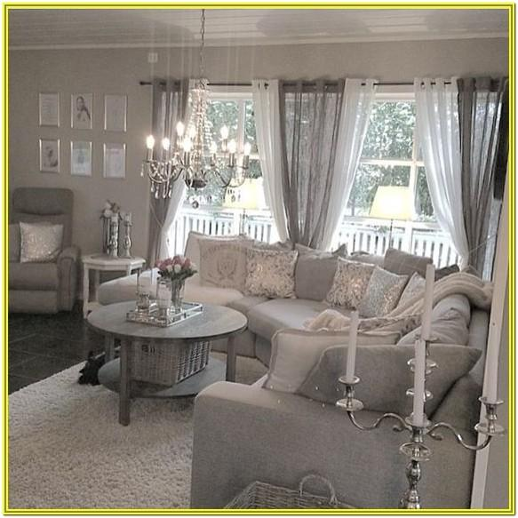 Grey Shabby Chic Living Room Ideas