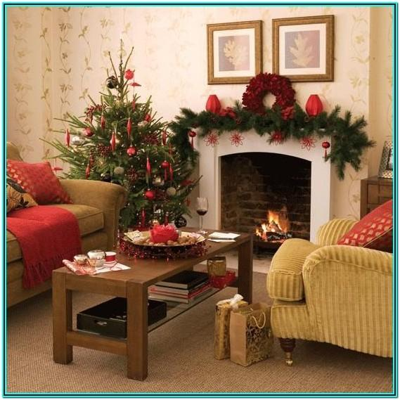 Ideas To Decorate Living Room For Xmas