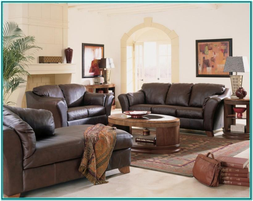 Living Room Decorating Brown Couches