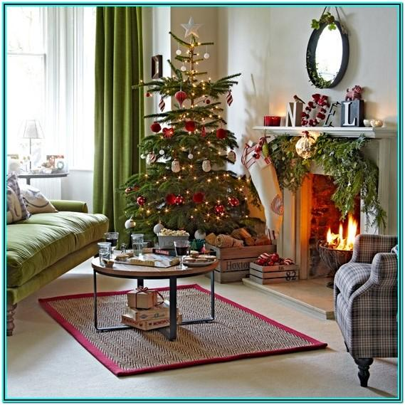 Living Room Decorating Ideas For Christmas 2016