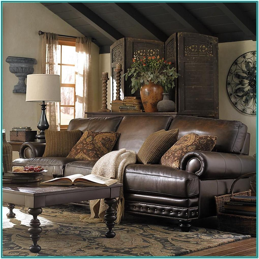 Living Room Decorating Ideas Leather Couches