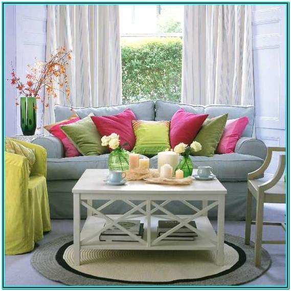 Living Room Decorating Ideas Pillows