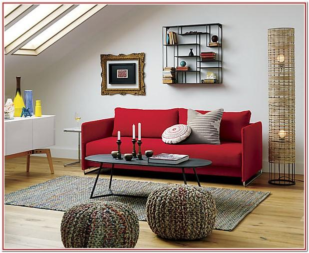 Living Room Decorating Ideas With Red Couch