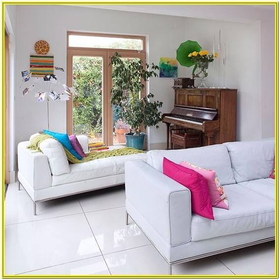 Living Room Decorating Ideas With White Sofa