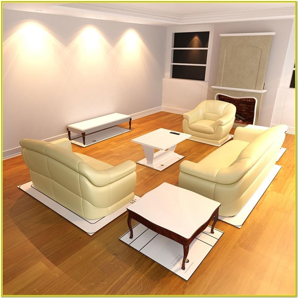 Living Room Decorating Template