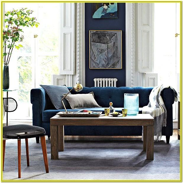 Living Room Decoration Ideas With Blue Sofas