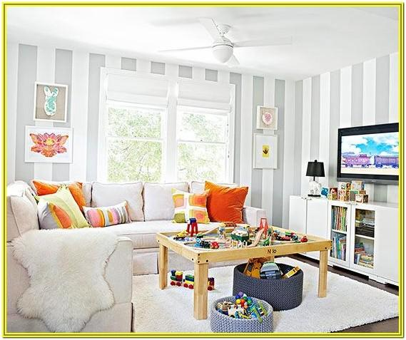 Living Room Decoration When Having Small Kids