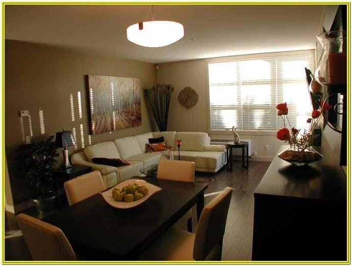 Living Room Dining Area Combo Decor