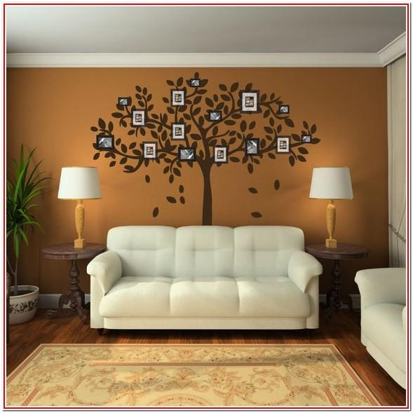 Living Room Family Picture Wall Decor