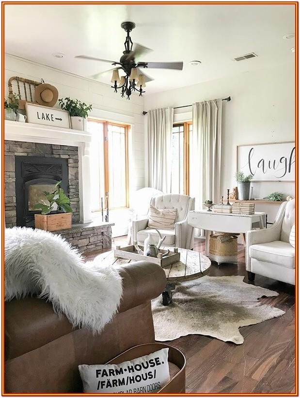 Living Room Farmhouse Living Room Wall Decorations