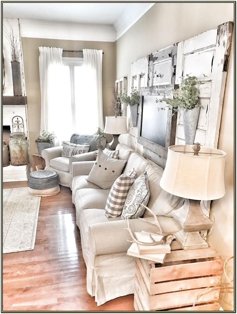Living Room Farmhouse Style Wall Decor