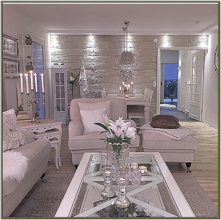 Living Room Feature Wall Decor