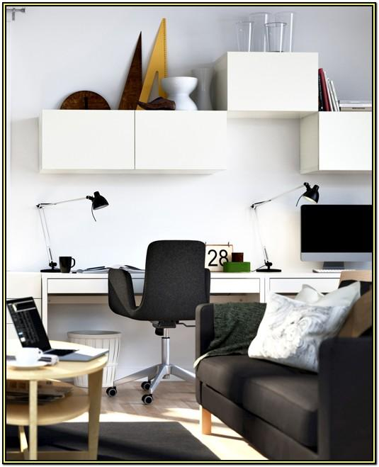 Living Room Home Office Decorating Ideas