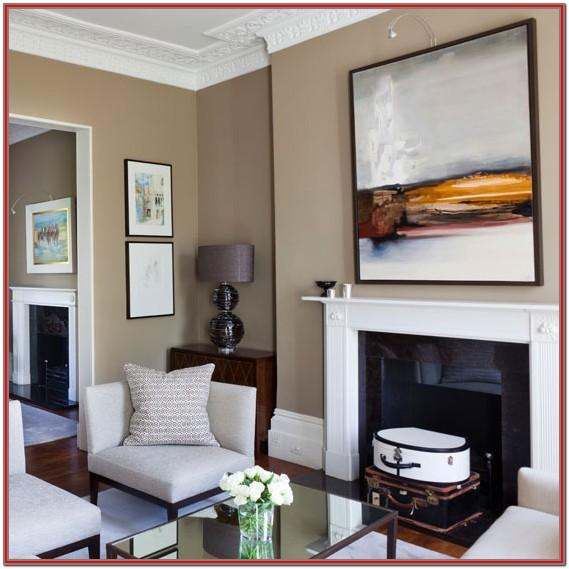 Living Room Middle Class House Decoration