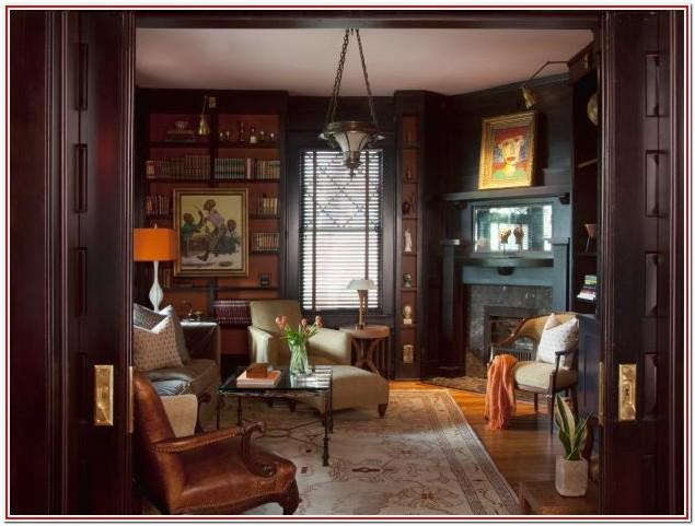 Living Room Office Antique Decorating Ideas
