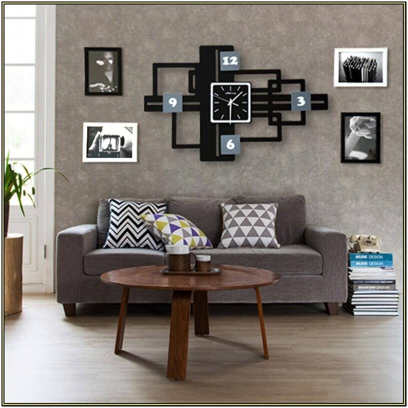 Living Room Photo Frame Decoration On Wall