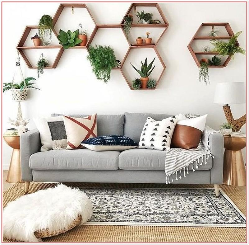 Living Room Plant Decor Ideas