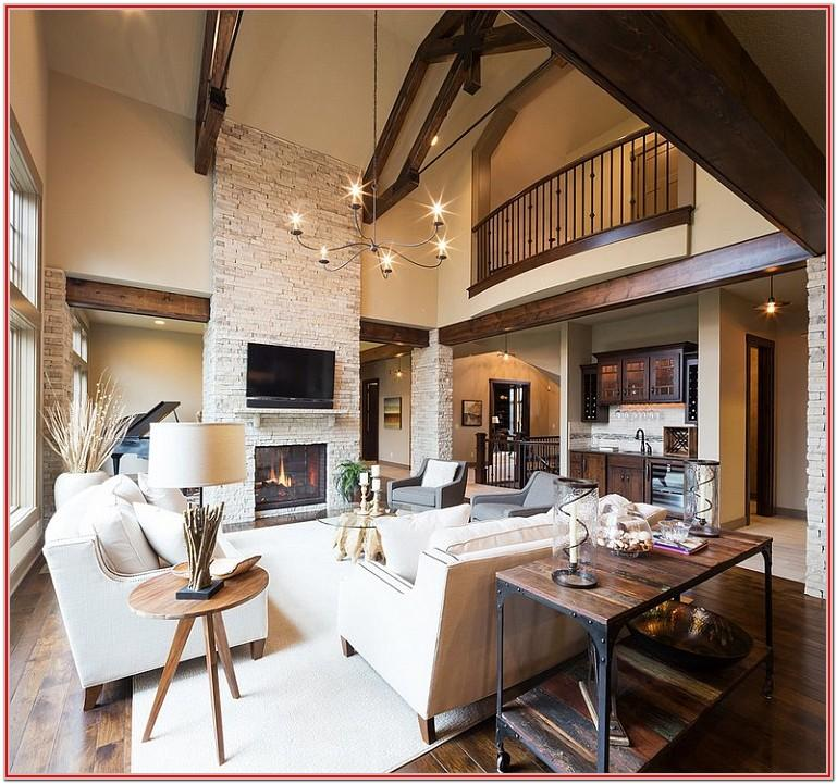 Living Room Rustic Decoration