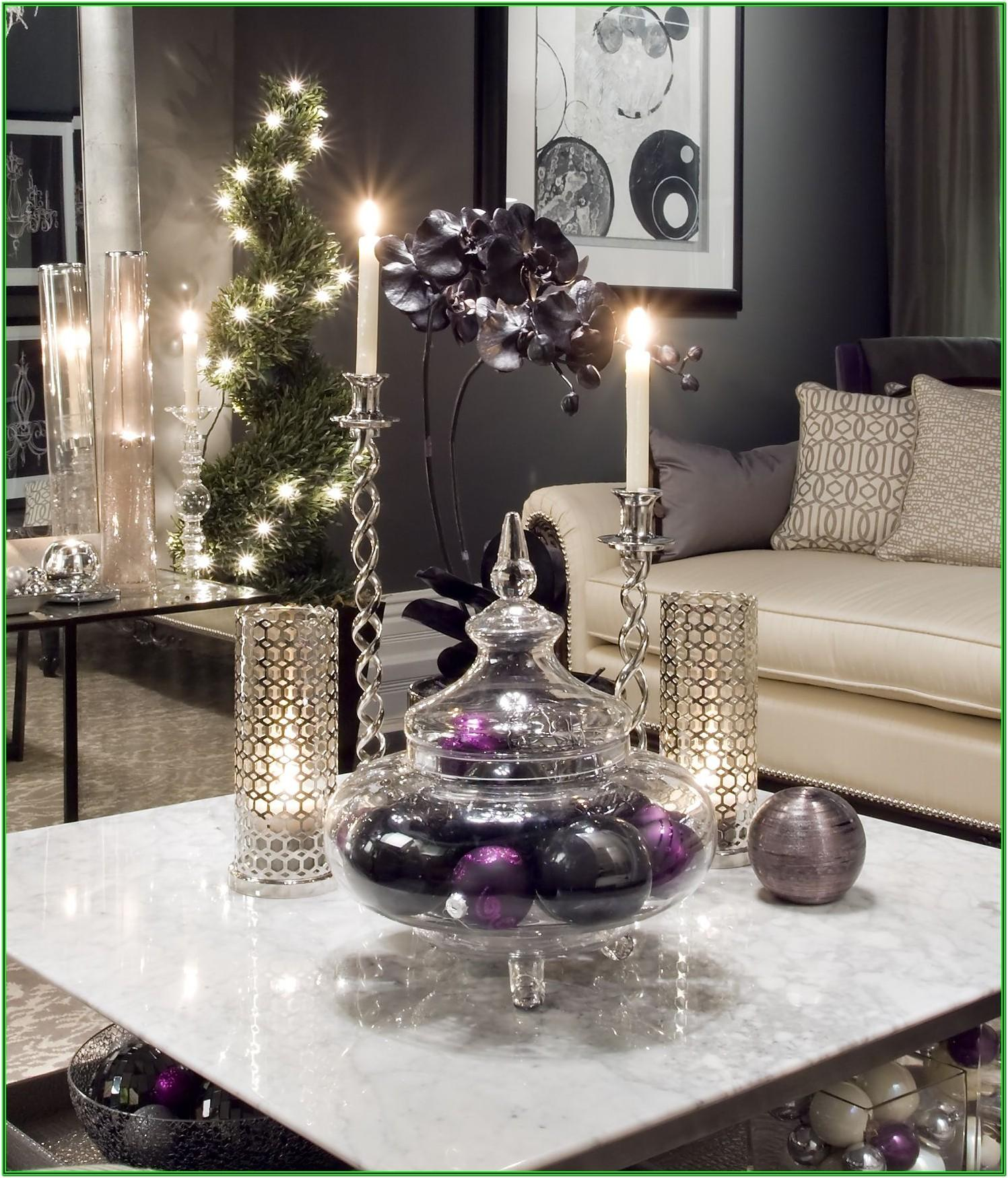 Living Room Table Christmas Decor Ideas