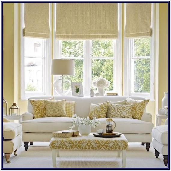 Living Room White And Gold Home Decor
