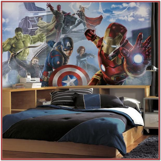 Marvel Living Room Decoration Picture