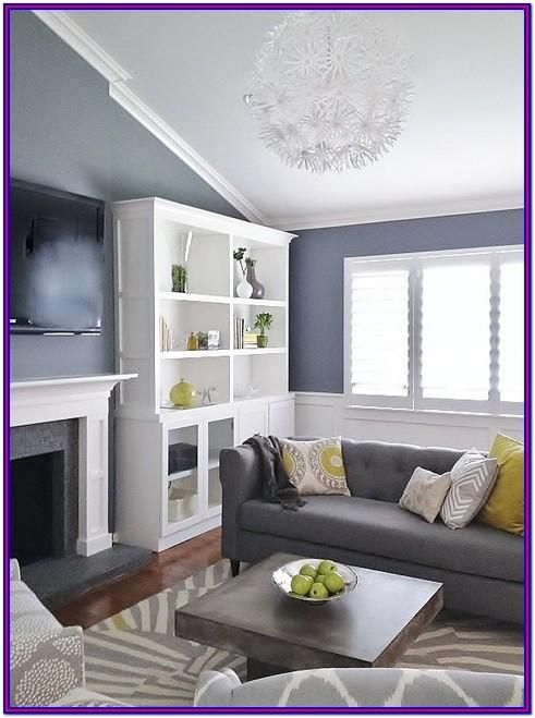 Modern Black And Grey Living Room Decorating Ideas