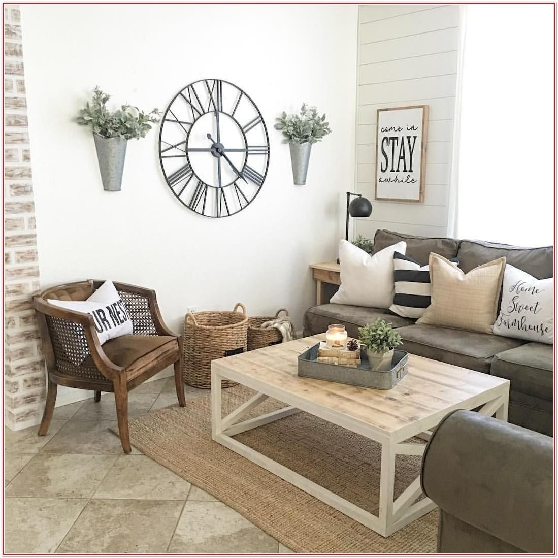 Modern Farmhouse Living Room Wall Decor
