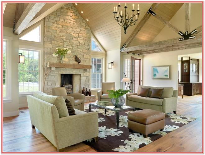 Modern Rustic Living Room Decorating Ideas