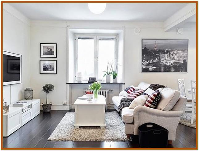 Modern Small Space Small Living Room Decor