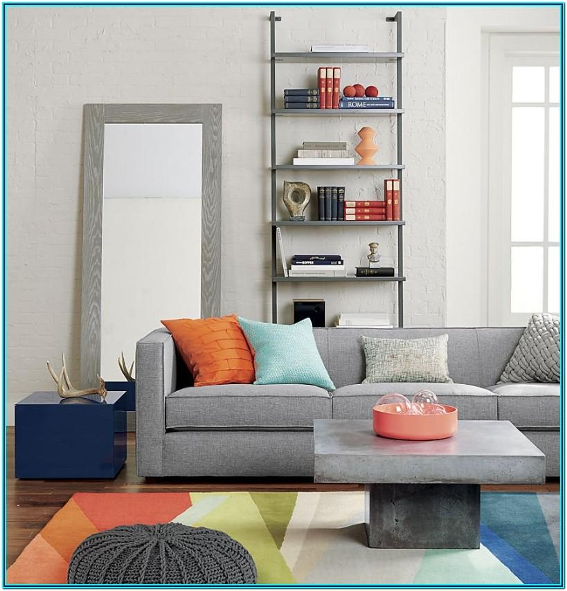 Peach And Grey Living Room Decor