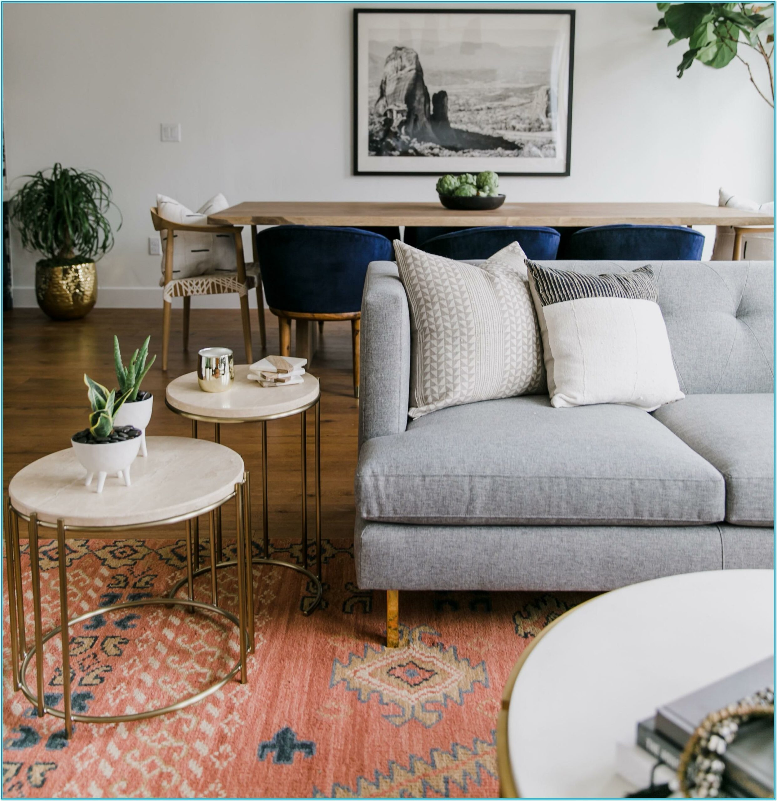 Photos Of Vintage Decorated Living Rooms