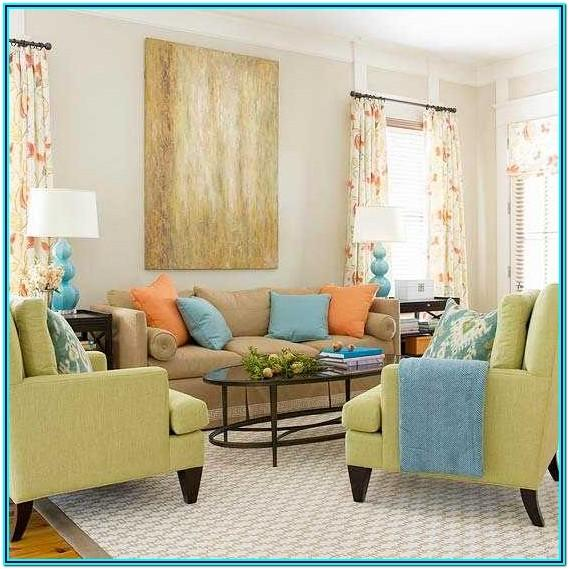 Pictures Of Decorated Living Room Pillows