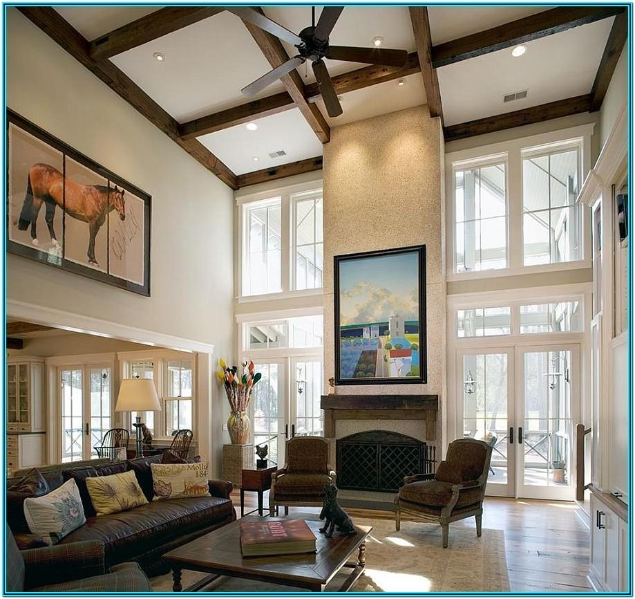 Premade Ceiling Decorations For Living Room
