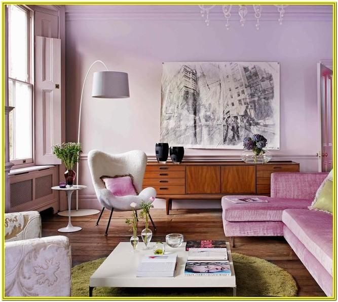 Purple And Lilac Living Room Ideas