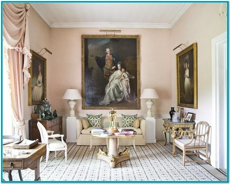 Queen Anne Living Room Decorating