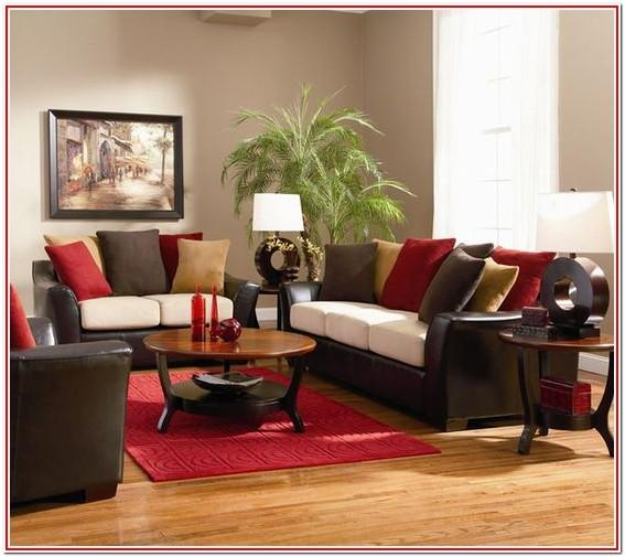 Red And Gold Living Room Decorating Ideas