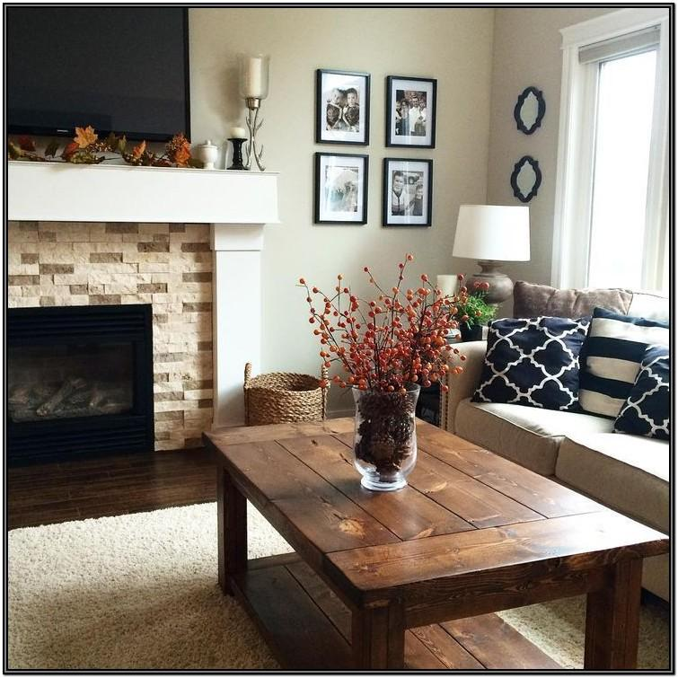 Red Tan And Black Living Room Ideas