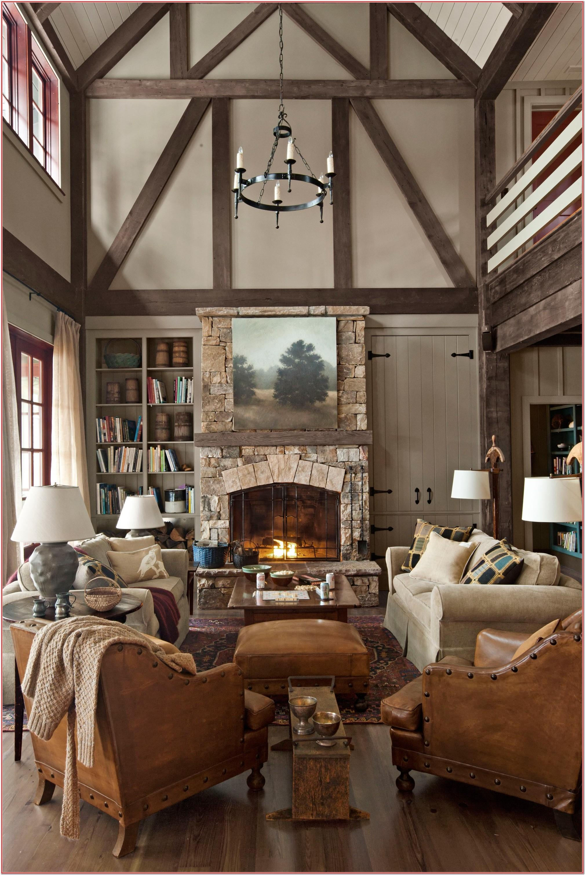 Rustic Cozy Small Living Room Decor